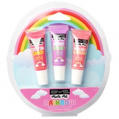 BYS MINI ME LIPGLOSS 3PC RAINBOW