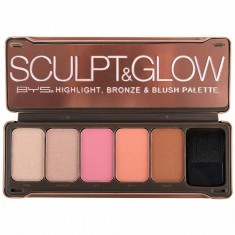 Paleta Colorete y Highlighter Sculpt & Glow