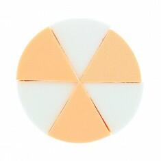 Esponjas de maquillaje triangulares