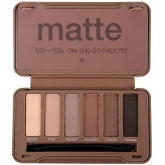Paleta de Maquillaje Compacta Nude Acabado Mate abierta